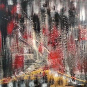 tableau de gauchepatte intitulé urban night