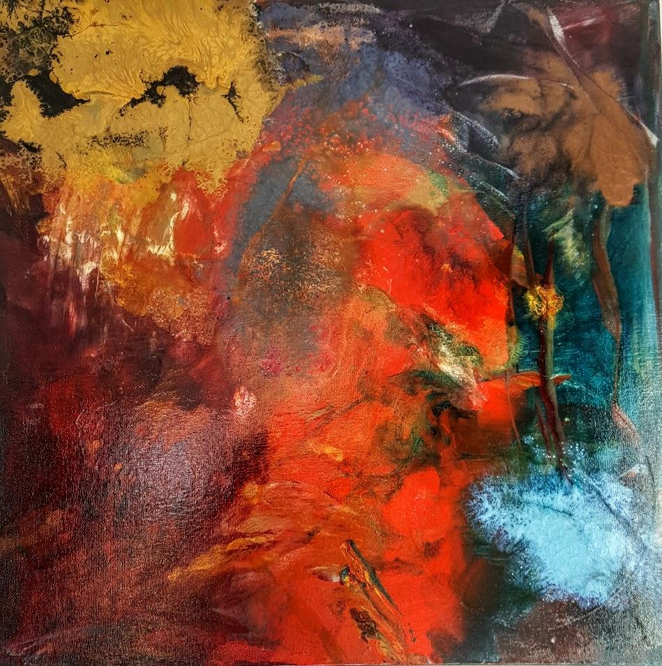 tableau de gauchepatte intitulé foret d'automne