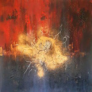 tableau de gauchepatte intitulé lumière d'or