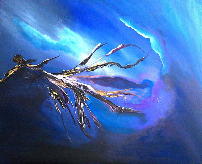 tableau de gauchepatte intitulé abysse