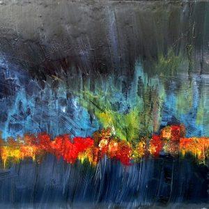 tableau de gauchepatte intitulé aurore