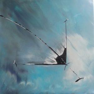 tableau de gauchepatte intitulé cerf volant