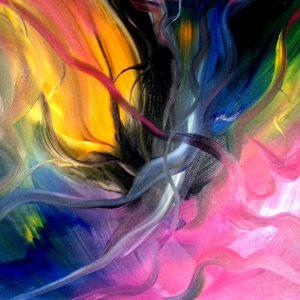 tableau de gauchepatte intitulé danse des rubans