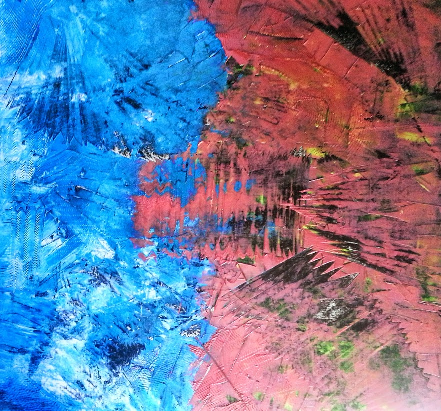 tableau de gauchepatte intitulé kaleidoscope