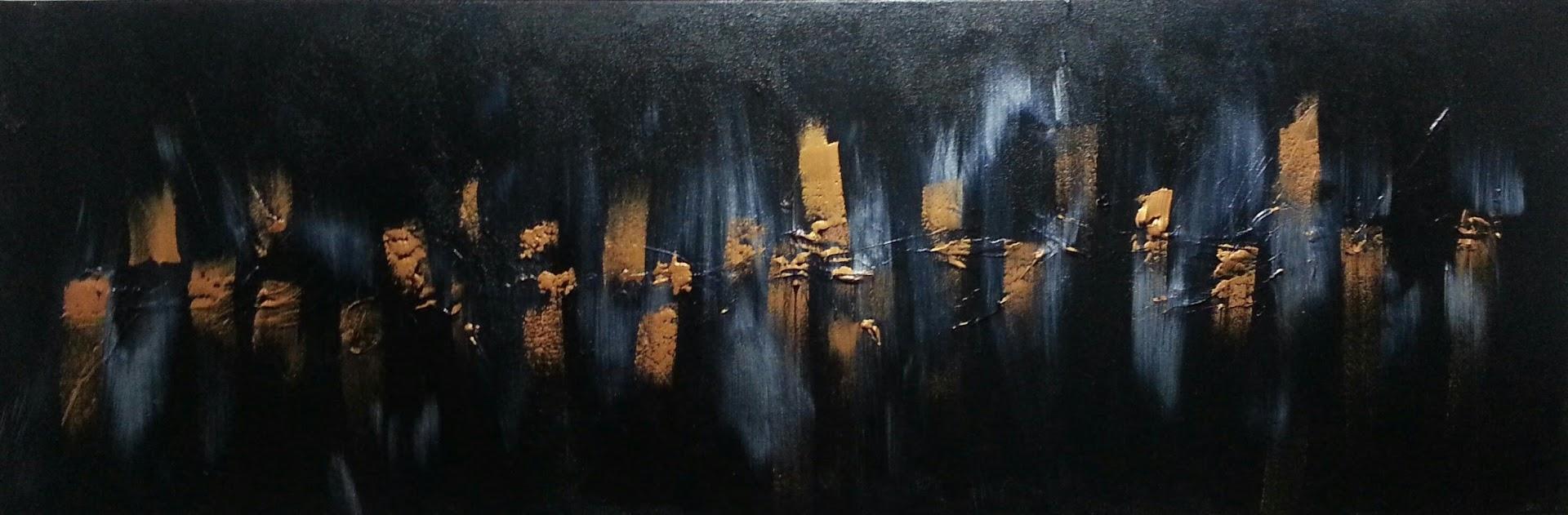 tableau de gauchepatte intitulé luciolles