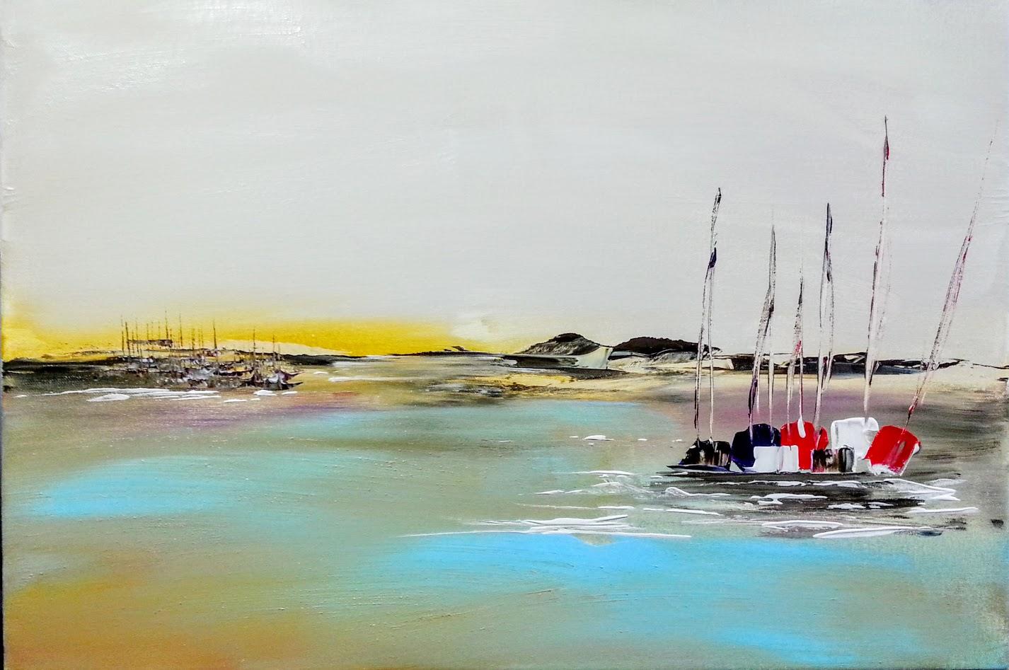 tableau de gauchepatte intitulé marée basse