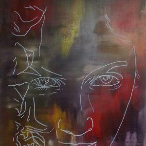 tableau de gauchepatte intitulé reflet