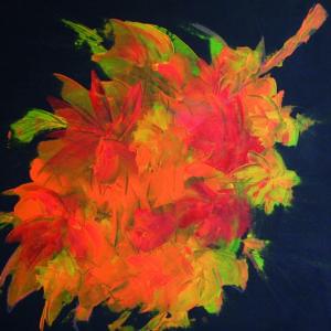 """tableau de gauchepatte intitulé """"automne"""""""